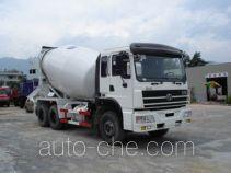 华威驰乐牌SGZ5250GJBCQ型混凝土搅拌运输车