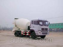 华威驰乐牌SGZ5250GJBDFL型混凝土搅拌运输车