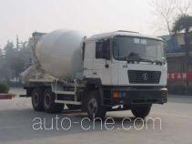 华威驰乐牌SGZ5250GJBSX型混凝土搅拌运输车