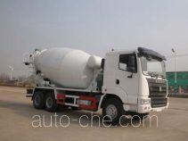 华威驰乐牌SGZ5250GJBZZ型混凝土搅拌运输车