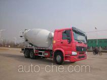 华威驰乐牌SGZ5250GJBZZ3W40型混凝土搅拌运输车