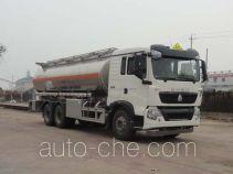 华威驰乐牌SGZ5250GYYZZ4G46型铝合金运油车