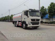 华威驰乐牌SGZ5250GYYZZ5T5型运油车