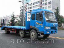 华威驰乐牌SGZ5250TPBCA3型平板运输车