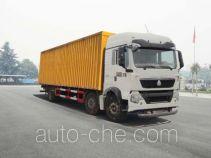 华威驰乐牌SGZ5250XYKZZ5T5T型翼开启厢式车