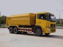 华威驰乐牌SGZ5250ZFL型密封式粉粒物料自卸车