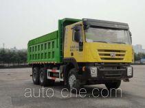 华威驰乐牌SGZ5250ZLJCQ4型自卸式垃圾车