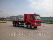 华威驰乐牌SGZ5251ZPBZZ3W型平板运输车