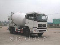 华威驰乐牌SGZ5252GJBDFL型混凝土搅拌运输车
