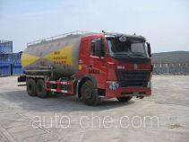华威驰乐牌SGZ5258GFLZZ3W461型粉粒物料运输车