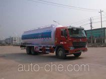 华威驰乐牌SGZ5258GFLZZ3W581型粉粒物料运输车