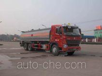华威驰乐牌SGZ5258GHYZZ3W581型化工液体运输车