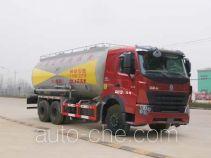 华威驰乐牌SGZ5259GFLZZ3W460型粉粒物料运输车