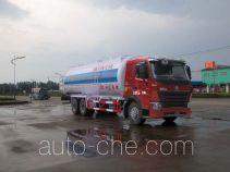 华威驰乐牌SGZ5259GFLZZ3W58型粉粒物料运输车