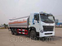 华威驰乐牌SGZ5259GHYZZ3W461型化工液体运输车
