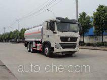 华威驰乐牌SGZ5260GYYZZ5T5型运油车