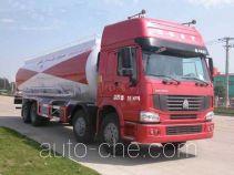 华威驰乐牌SGZ5280GFLZZ3W型粉粒物料运输车
