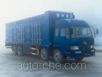 华威驰乐牌SGZ5300XXY型厢式运输车