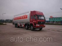 华威驰乐牌SGZ5310GFLZZ3J38型粉粒物料运输车
