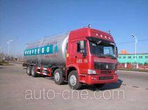 华威驰乐牌SGZ5310GFLZZ3W型粉粒物料运输车