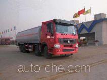 华威驰乐牌SGZ5310GHYZZ3W型化工液体运输车