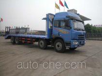 华威驰乐牌SGZ5310TPBCA3型平板运输车
