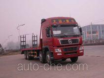 华威驰乐牌SGZ5310TPBDY3型平板运输车