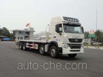 华威驰乐牌SGZ5310TPBZZ5T7型平板运输车
