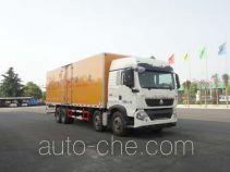 华威驰乐牌SGZ5310XRYZZ5T5型易燃液体厢式运输车