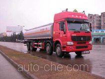 华威驰乐牌SGZ5311GHYZZ3W型化工液体运输车