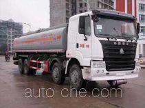 华威驰乐牌SGZ5311GHYZZ3Y型化工液体运输车