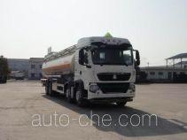 华威驰乐牌SGZ5311GYYZZ4G型铝合金运油车