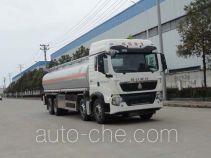 华威驰乐牌SGZ5311GYYZZ5T5型铝合金运油车
