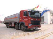 华威驰乐牌SGZ5318GHYZZ3W46型化工液体运输车