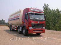 华威驰乐牌SGZ5319GFLZZ3W38型粉粒物料运输车