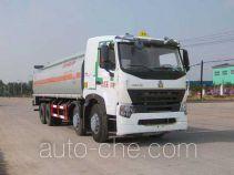 华威驰乐牌SGZ5319GHYZZ3W46H1型化工液体运输车