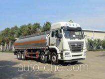 华威驰乐牌SGZ5320GYYZZ5J5型运油车