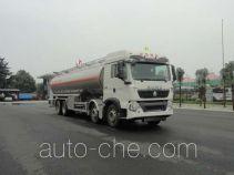 华威驰乐牌SGZ5321GYYZZ5T5型铝合金运油车