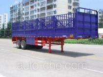 华威驰乐牌SGZ9190CXY型仓栅式运输半挂车
