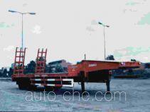 华威驰乐牌SGZ9190TGJ-G型工程机械运输半挂车