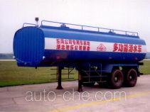 华威驰乐牌SGZ9220GSS-G型洒水半挂车