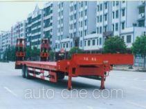 华威驰乐牌SGZ9250TDP型低平板半挂车