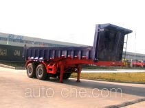 华威驰乐牌SGZ9250ZZX型自卸式半挂车