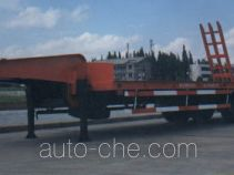 Construction equipment transport trailer