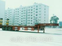 华威驰乐牌SGZ9280TDP型低平板半挂车