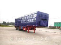 华威驰乐牌SGZ9283CXY型仓栅式运输半挂车