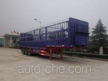 华威驰乐牌SGZ9300CXY型仓栅式运输半挂车