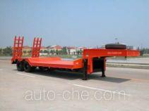 华威驰乐牌SGZ9300TDP型低平板运输半挂车