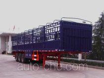 华威驰乐牌SGZ9310CXY型仓栅式运输半挂车
