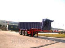 华威驰乐牌SGZ9320ZZX型自卸式半挂车